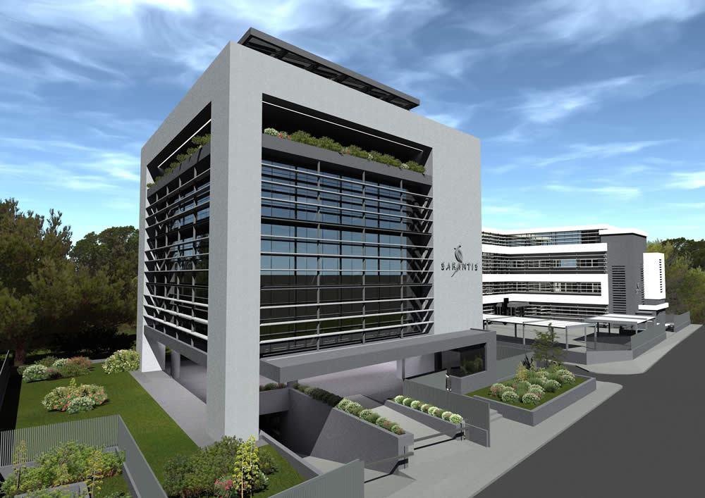 κτήριο γραφείων Σαράντης