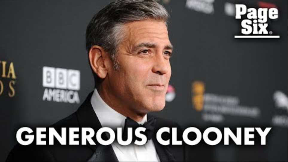 Why George Clooney gifted his 14 best friends $1 million each   Page Six Celebrity News