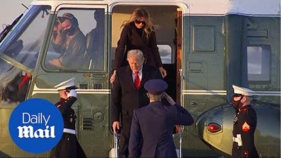Trump departs White House for Christmas vacation after vetoing Covid relief bill