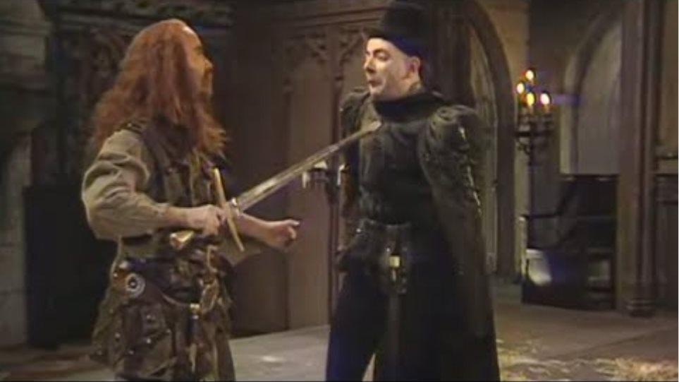 Edmund's Duel with McAngus | Blackadder | BBC Studios