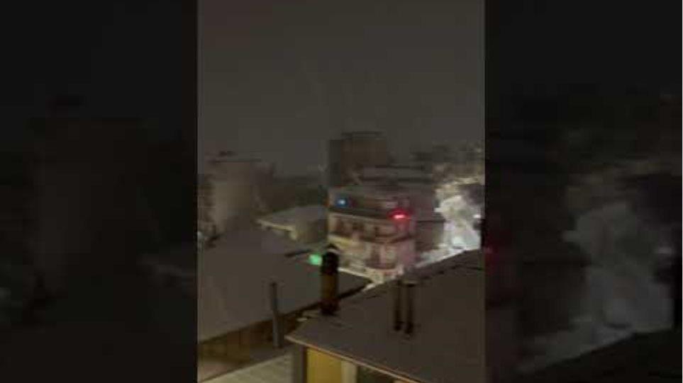Χιόνια στο Καρπενήσι
