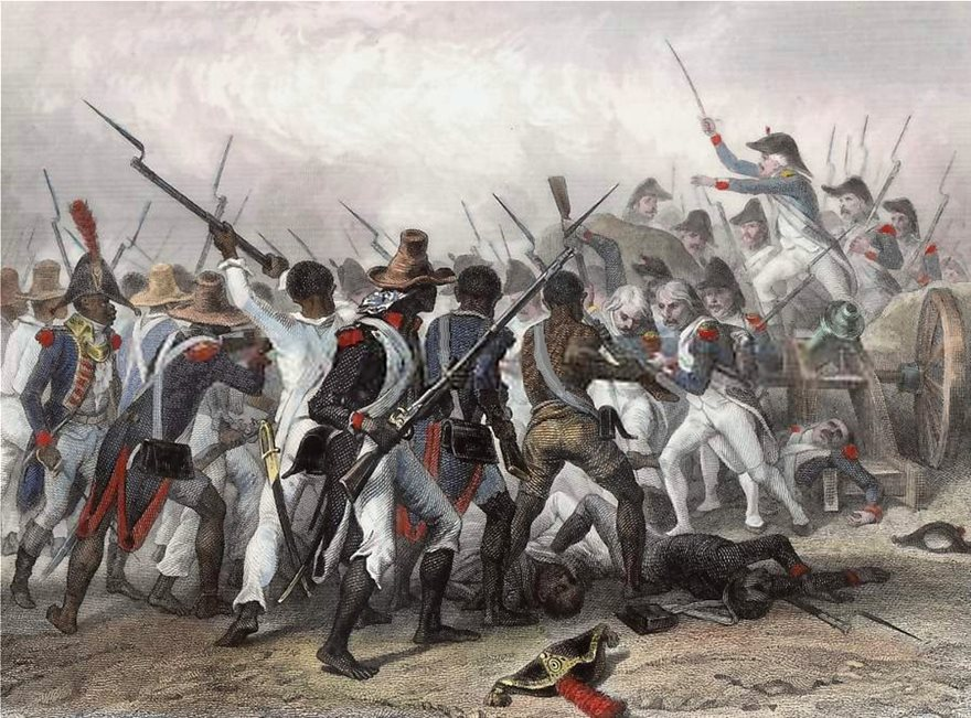 Haitians-French-troops-engraving-revolution-Haitian-Hebert-1803