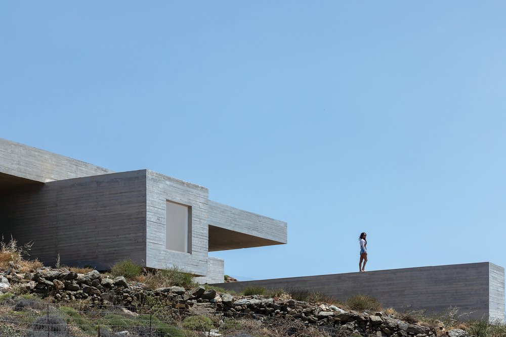 εντυπωσιακή κατοικία στην Τήνο