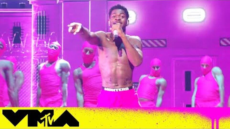 Η εμφάνιση του Lil Nas X στα VMAs